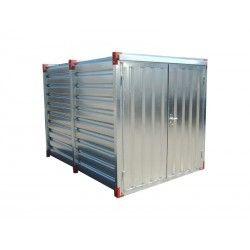 Materiaalcontainer 3mtr dubbele deur 10.ft