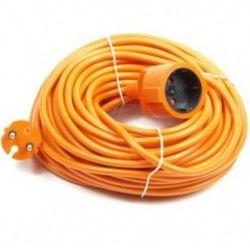 Verlengkabel 230 volt , 20 meter Oranje