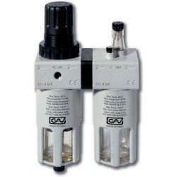 FRL200 Filter- Drukregelaaar + Olienevelaar