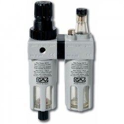 FRL180 Filter- Drukregelaar + Olienevelaar
