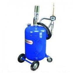 Pneumatische Olievat- Pompkar, met digitale meter