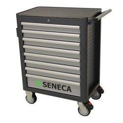 Seneca Gereedschapwagen 7 lades grijs