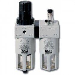 FRL300 Filter- Drukregelaaar + Olienevelaar