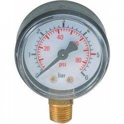 """Manometer Ø 50.mm 1/8"""" onderzijde"""