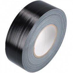Duct tape 50mm x 50.meter Zwart
