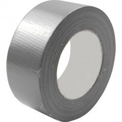 Duct tape 50mm x50.meter Zilver