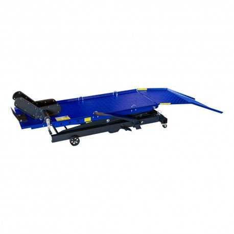 Motorfietslift kruis 370.kg Voetbediend , Scooterlift