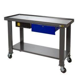 Revisietafel Werktafel met olieopvang