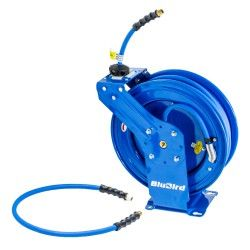 Slanghaspel automatisch Lucht/Water 20 meter