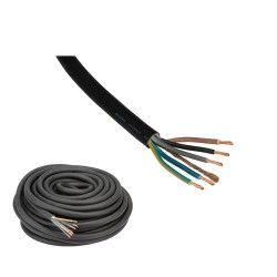 Kabel 5 x 4,0mm2 per meter