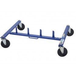 Opbergrek voor automovers, Wheeltrolleystandaard