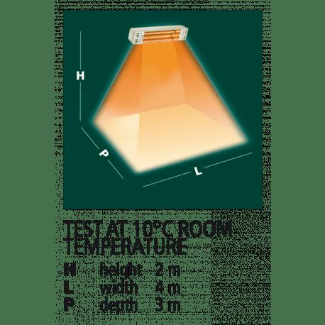 Varma Top Infrarood verwarmer