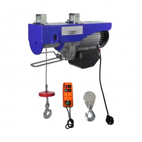 Elektrische takel draadloos 300 / 600kg 230V