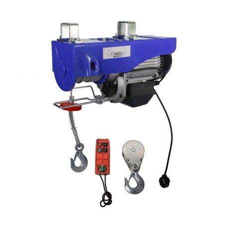 Elektrische takel draadloos 500 / 990kg 230V