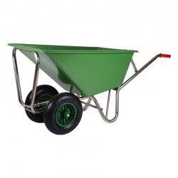 Kruiwagen Poly 160 liter 2 wielen