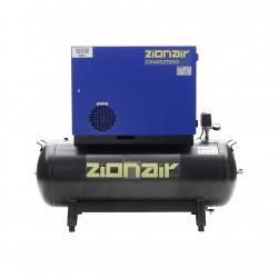 Compressor gedempt 4kW 400V 11 bar 270L tank ster-driehoek