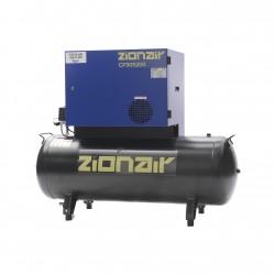 Compressor gedempt 3kW 400V 11 bar 200L tank